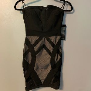 Bebe Bodycon Dress. XS